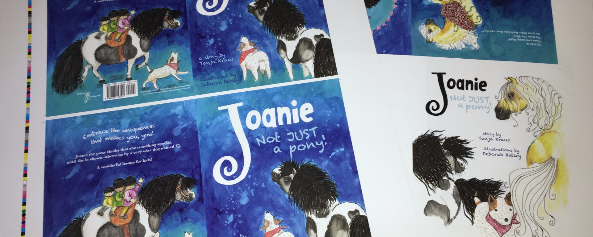 Joanie childrens book proof