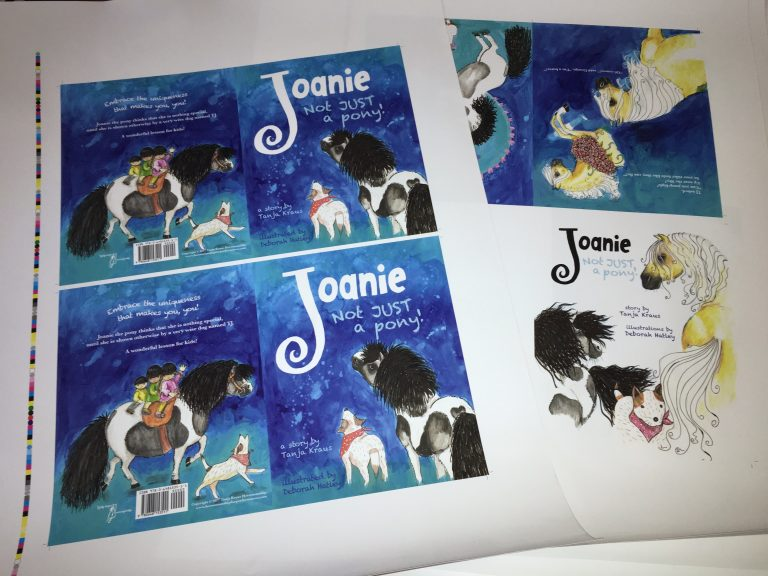 Joanie childrens book proof